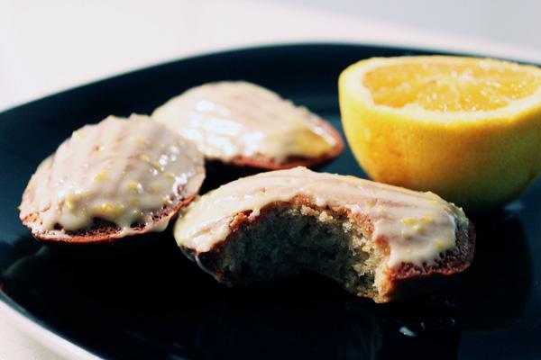 Orange-Cardamom Madeleines | Krafted by Kelly